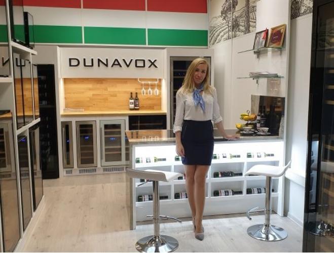 Обзор шоу-рума винных шкафов Dunavox в Москве