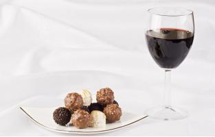 Вино + шоколад =?