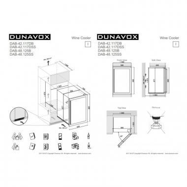 Dunavox DAB-48.125SS