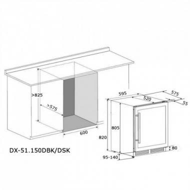 Dunavox DX-51.150DBK/DP